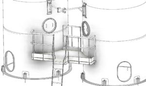 Silo Detail Drawing Engineering Design